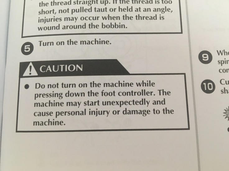 More inane instructions