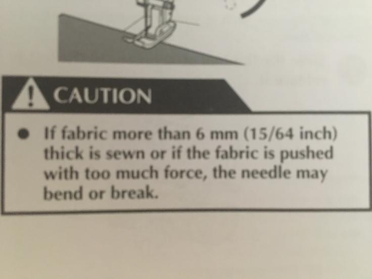 15/64 inch (6 mm)